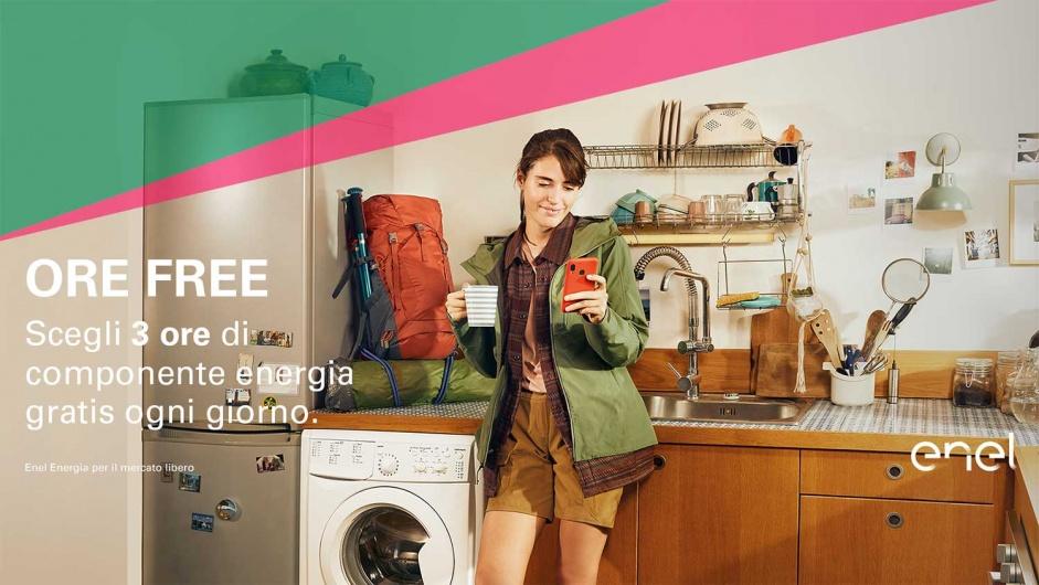 Ore Free: ecco l'offerta rivoluzionaria di Enel Energia