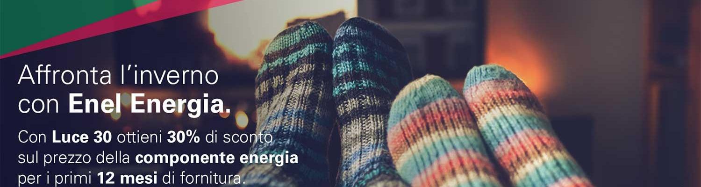 L'inverno con Enel Energia è la super offerta Luce 30 (terminata)
