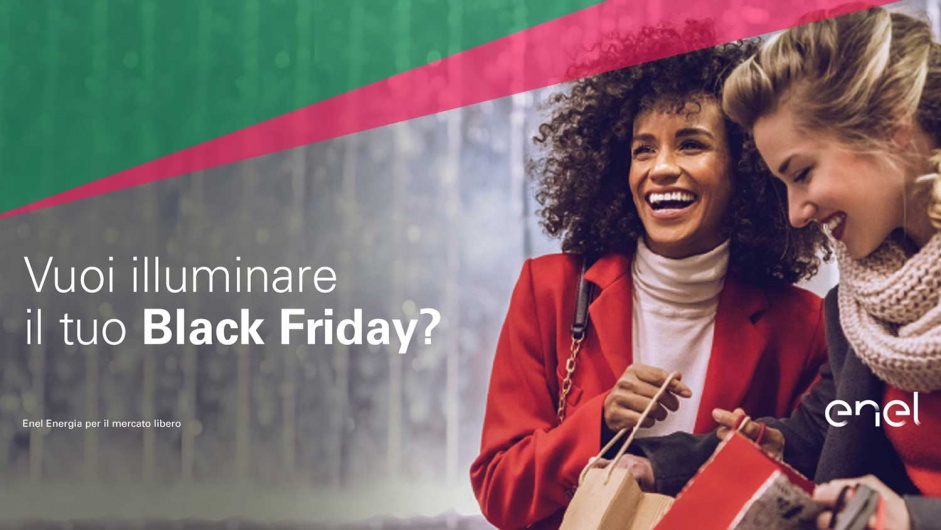 Il Black Friday di Enel Energia è Black Days Luce 30 (terminata)